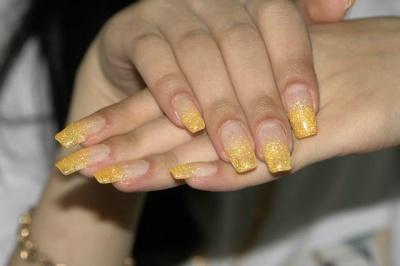 Фото дизайн ногтей растяжка
